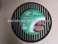 Custom Cast Iron Grill Grates/Grids With Black Color Porcelain Enamel and Eco-Friendly Quality