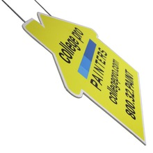Custom Outdoor Pp Corrugated Plastic Warning Corflute Printing Signs
