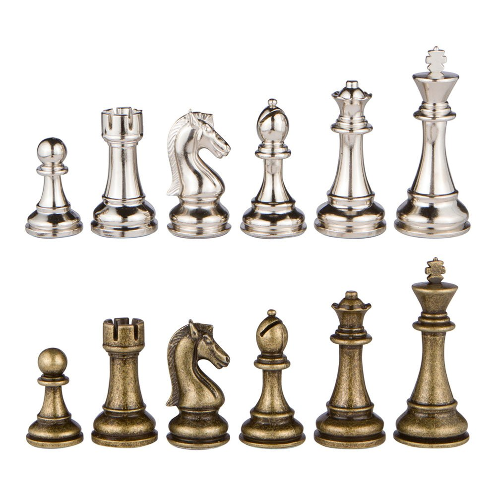 Plastic Chess Pieces In Size 2 or 2.5 Inch wooden pieces   Meta land Crystal pawn pieces