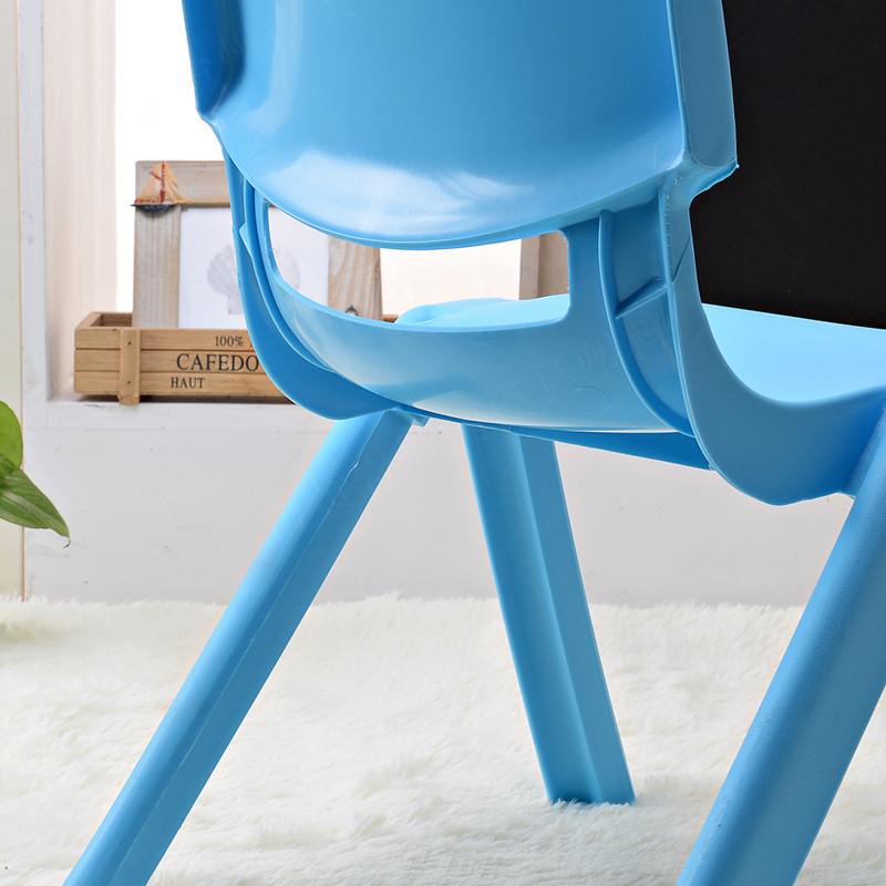 2015 new style colorful fashion durable kid stool baby back-rest plastic chair