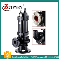 factory price 1HP WQ portable non-clogging submersible sewage pump
