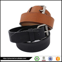 Fancy High Quality Brown or Black Casual Leather children belt