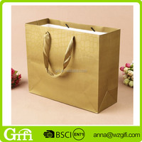 decorative luxury recyclable fashion gift Brand Name Design Custom Shopping Paper Bag