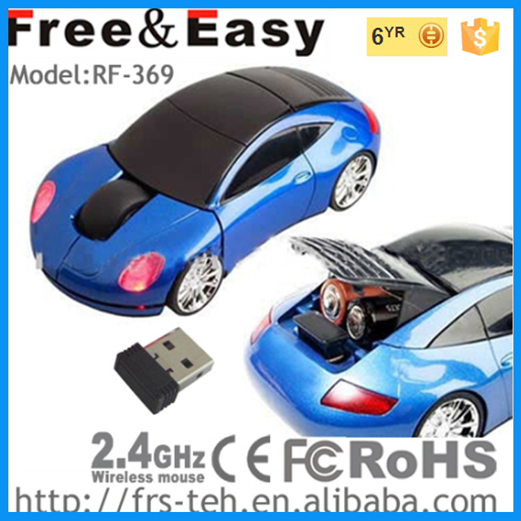 Hot-sale 2.4g wireless gift car mouse