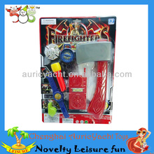 fire rescue team toys,toy fireman tool,whistle,flashlight,axe,watch,walkie-tal ZH0909138