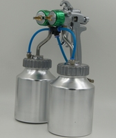Ningbo hot on sales nono 93V dual head chrome paint dual head chrome auto spray paint mixer