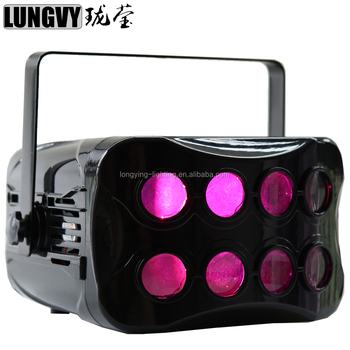 2*20w 7IN1 LED Disco Butterfly Effect Light for DJ Club Party Disco Light Happy Stage Light