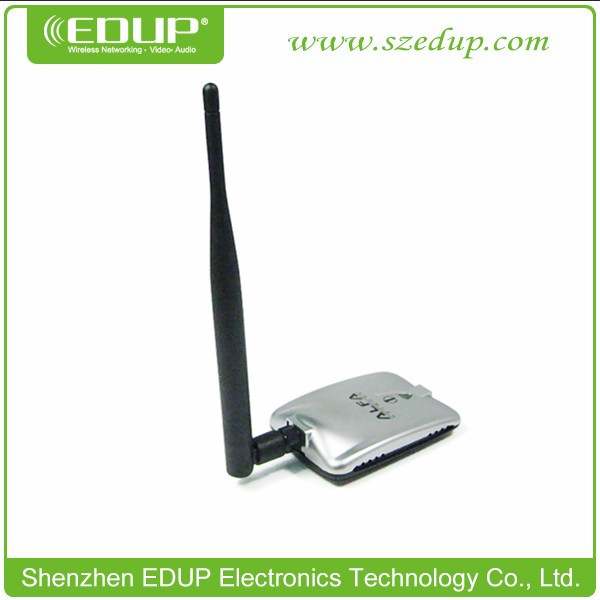 ALFA High Power Palm USB Wireless Adapter With Antenna