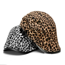 Free Sample Design For Leopard Unisex Ivy Cap Custom Newsboy Hat For Wholesale