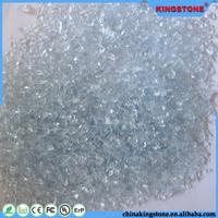 Durable countertop glass chips