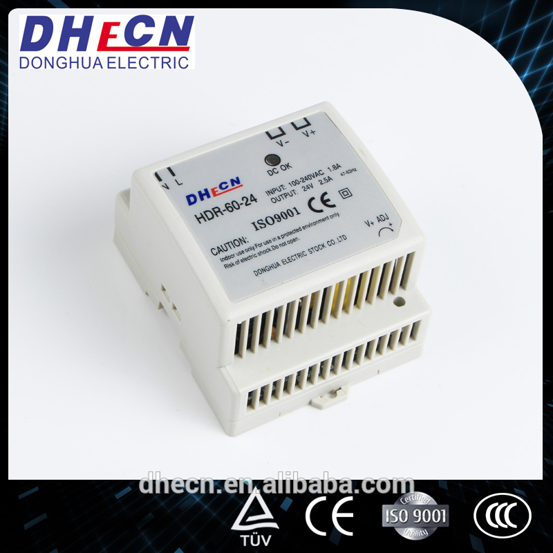 DHECN meanwell 60v switching power supply (HDR-60-24)