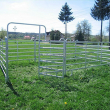 Factory Direct Galvanized Metal Fencing Panels For Horse And Cattle