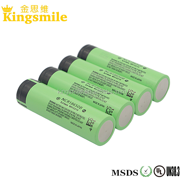 18x65 Size and Li-Ion Type 3.7v icr 18650 li-ion rechargeable battery