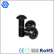 Titanium Pan Head Bolt M6x20, Titanium Hex Socket screws, Titanium Black screws