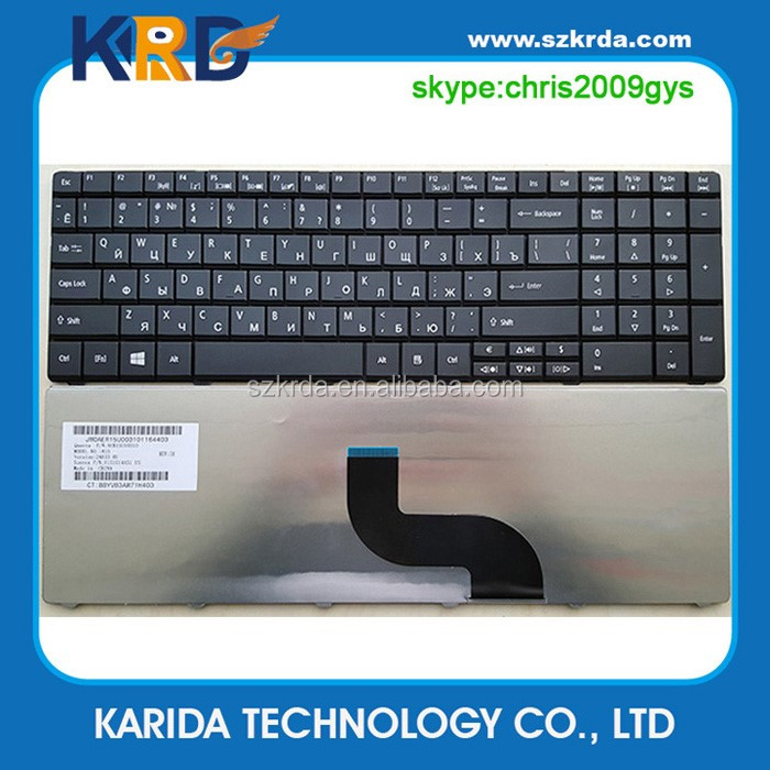 Genuine Laptop keyboard notebook keyboard for ACER E1-531G E1-531 E1-571G E1-571 RU layout