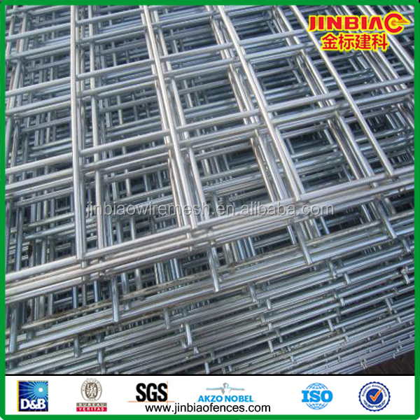 Hot Dip Galvanised or Green PVC Coated welded wire mesh fence