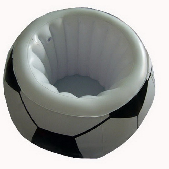 NEW Inflatable Beverage Beer Cans Super Bowl Party Football Ice Cooler