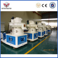 Large capacity wood brequette production line / biomass wood brequette pellet line