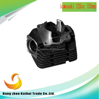 Chinese factory whole sale motorcycle engine parts kawasaki 125cc (55mm) cylinder body for europea markets