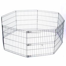 Large Heavy Duty Cage Pet Dog Fence Exercise Metal Play Dog Kennel