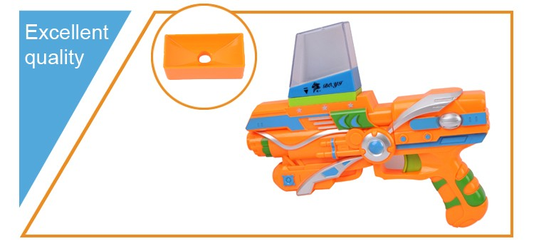Plastic guns electric safe shooting water bullet toy gun for sale