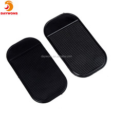 Magic Anti-slip Non-slip Mat Car Dashboard Adhesive Mat Sticky Pad for Cell Phone CD Electronic Devices Phone Pad Black 1pc Blac
