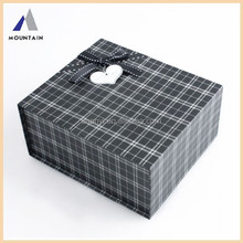 Mountain Gray small grid magnet chocolate gift box
