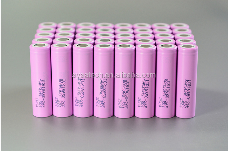 ICR18650-26F 3.7V2600mah battery cell