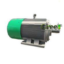 240kW 600rpm low speed direct drive synchronous permanent magnet alternator , <strong>wind</strong> power generator