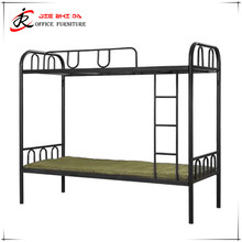 Modern children bedroom iron material black chiniot furniture bunk bed sets