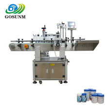 Gosunm Factory price automatic bottle label applicator machine on two sides