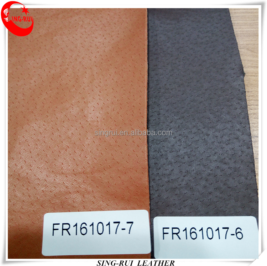 Artificial Pu Synthetic Shoes Lining Leather Materials
