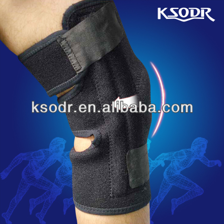 Adjustable neoprene knee support for Patella stabilising
