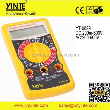 new 7 functions AC DC voltage electrial multimeter