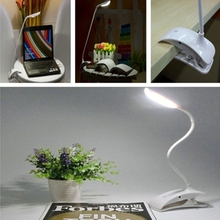 Wholesale YouOKLight Fexible USB Rechargeable Touch Sensor LED Reading Light Cilp Desk Lamp