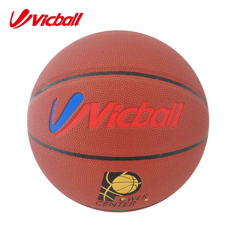 Indoor PU Material Laminated Basketball Factory