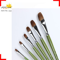 The Same As Da vinci Professiona Painting Brush For Acrylic Watercolor With Filbert Weasel Hair Wooden Handle