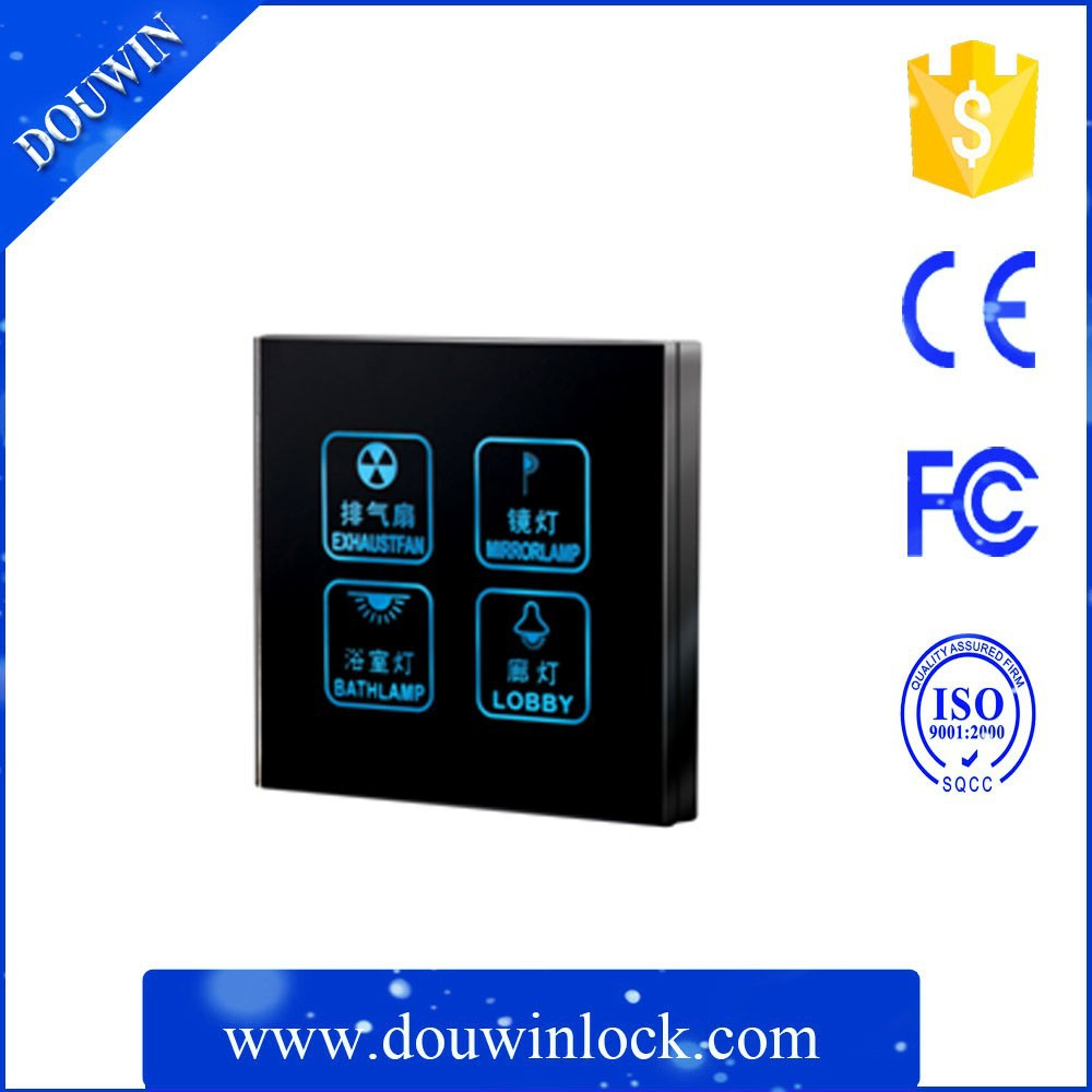 Best price touch pale led light switch plate/electronic switch