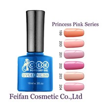 2017 Fei Fan Beauty Color Princess Pink Series Long Sex Gel Nails Polish Free Sample With Wholesale Price