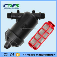 CDFS 2 inch Y type plastic disc and screen filter for irrigation