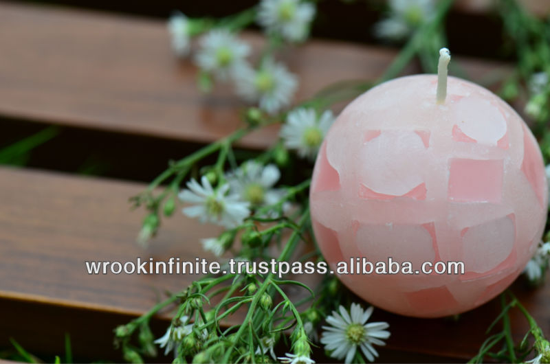 Chunk Ball Candle