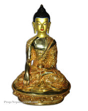 Special Carving Gold Platted Buddha Statue