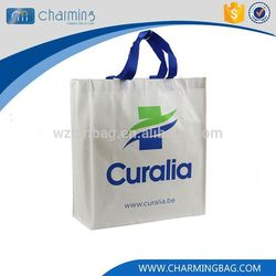 Best selling custom design white surface recycle shopping bag non woven