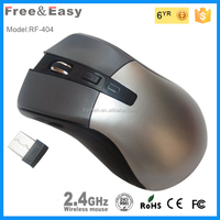 Free sample and printing color 2.4ghz 3.0 usb 6D wireless mouse for laptop