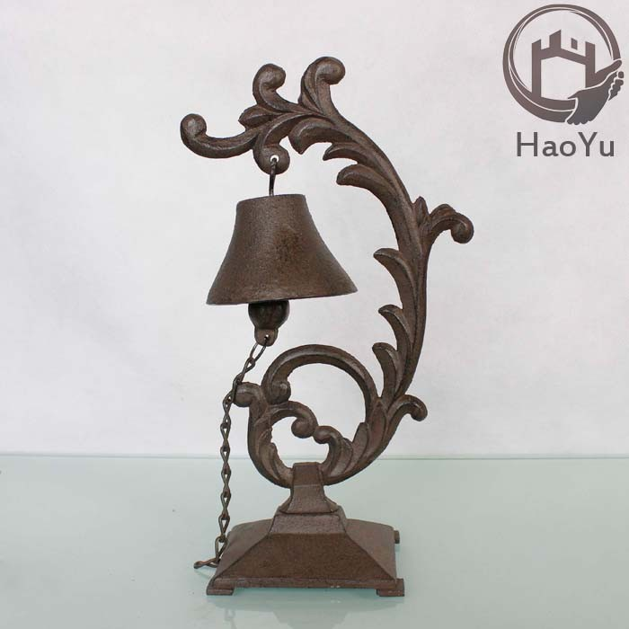 cast iron dinner bell for home decoration