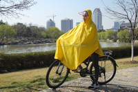 Extra large reusable rain bike poncho