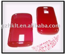 mobile phone case TPU case Transparent case for BlackBerry 9000/Bold)