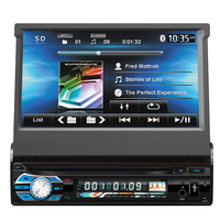 KESHANGDA Universal auto radio gps 1 din 7 inch car dvd player with radio audio navigation system bluetooth