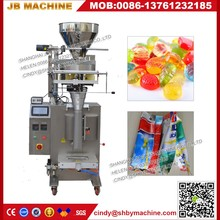 Shanghai Yanban JB300K volume metering automatic packaging system For Biscuit/Towels/Tissues/Bread/Instant Noodles {