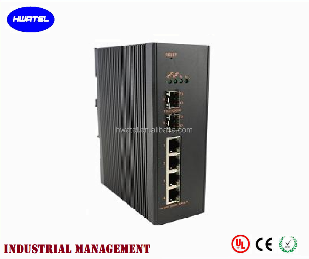 din <strong>rail</strong> mounted toggle INDUSTRIAL gigabit ethernet network switch For hikvision dahua alhua IP Camera DVR